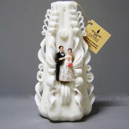 """Свадебная свеча"""" Домашний очаг """"."""