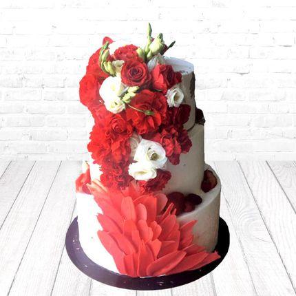 """Торт """"Изысканные розы"""""""