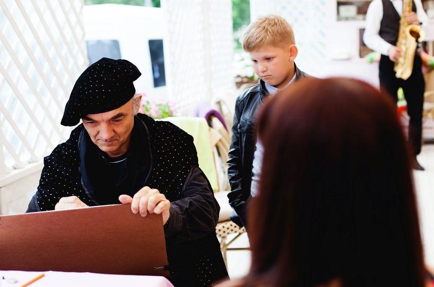 """Фото 15863910 в коллекции Шаржи на свадьбе, вживую и с фото - Шаржист """"Базилио"""""""