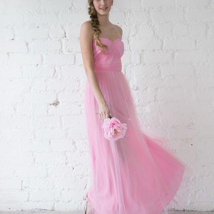Платье Paris - розовый фатин
