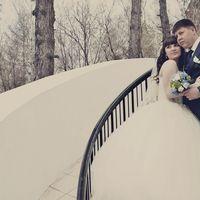 """На Татьяне свадебное платье """"Сирень"""" с прозрачным корсетом"""