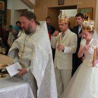 На Ольге Свадебное платье Маркиза
