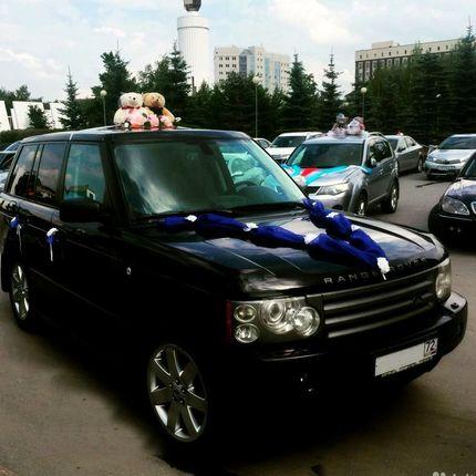 Прокат свадебных украшений для машины