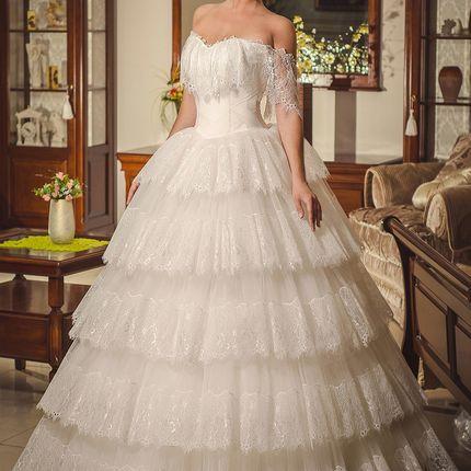 Свадебное платье, мод. 1485