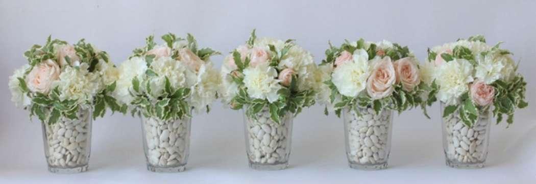 Фото 10487326 в коллекции Оформление стола гостей - Мастерская флористики Wedding planner