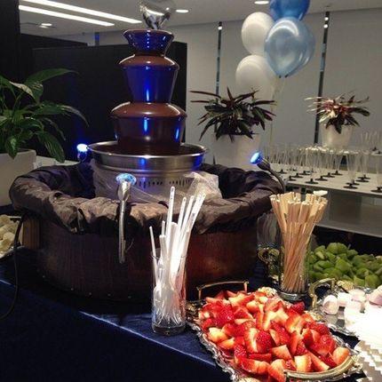 Шоколадный фонтан на 100 человек
