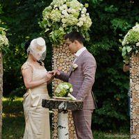 Прекрасная июньская свадьба.Выездная регистрация.Особенный стиль.