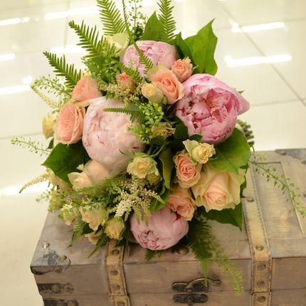 """Букет невесты """"Розовые пионы"""""""