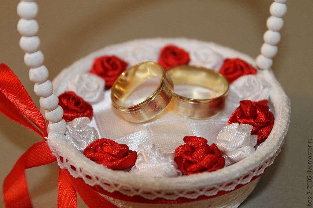 Корзиночка для колец на свадьбу своими руками фото 63