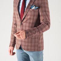 Пиджак терракотового цвета
