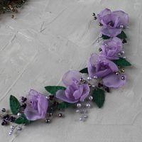 Веточка с орхидей