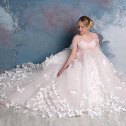 """Свадебное платье """"Бабочки"""""""