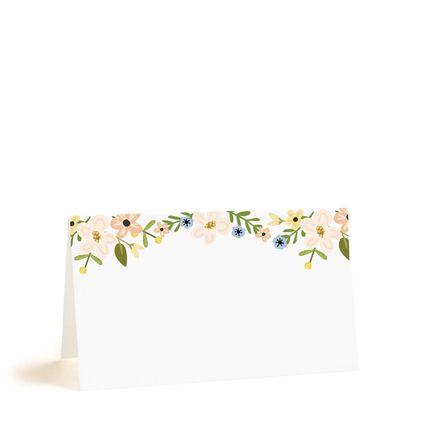 Рассадочные карточки с жёлтыми цветами, цена за 25 шт.