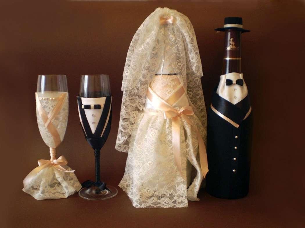 Свадебные бутылки своими руками (фотовидео) - Уютка 76