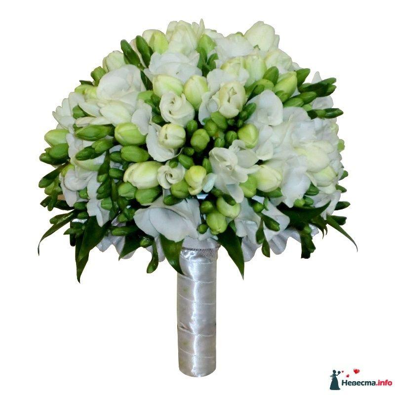 Свадебные букеты для невесты фрезий фото, для