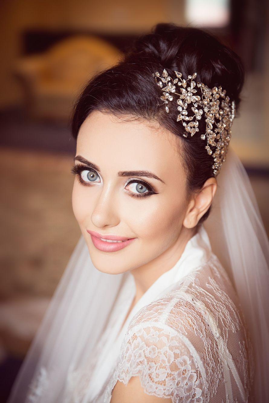 Восточный макияж невесты фото