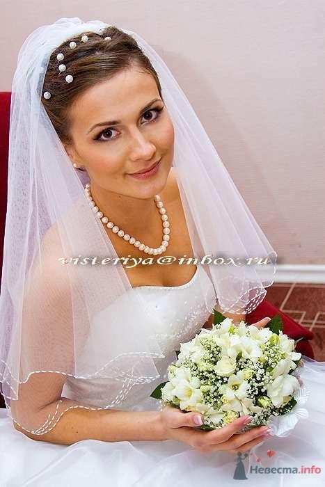 """Фото 33909 в коллекции Букет невесты и бутоньерка. - Студия флористики """"Вистерия"""""""