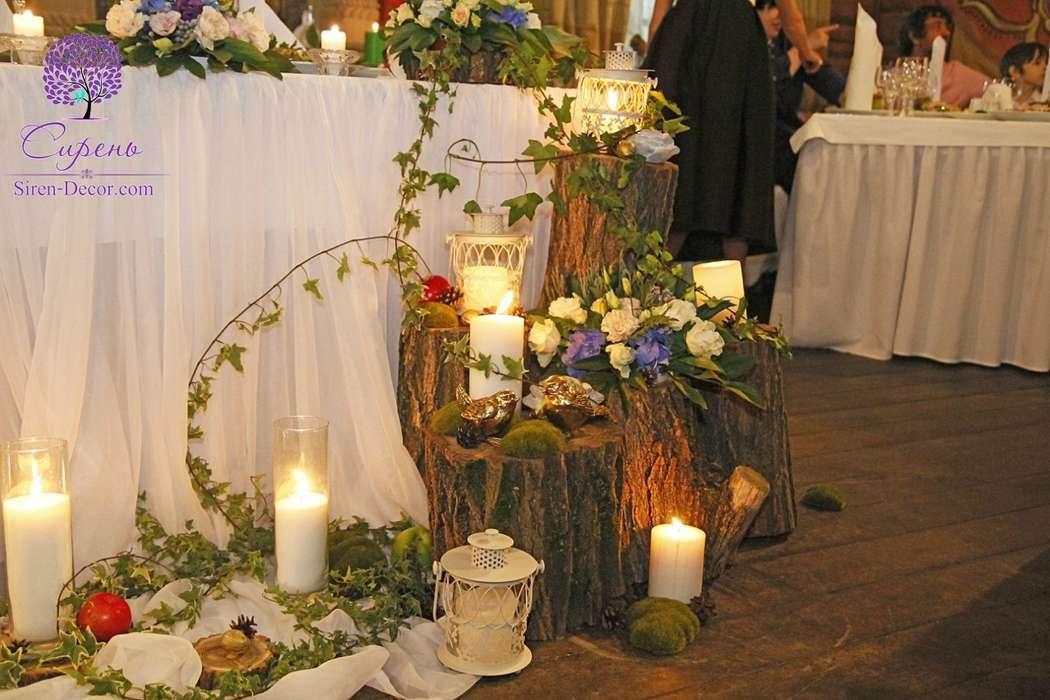 Фото 10730838 в коллекции Лесная свадьба - Декор и флористика Сирень