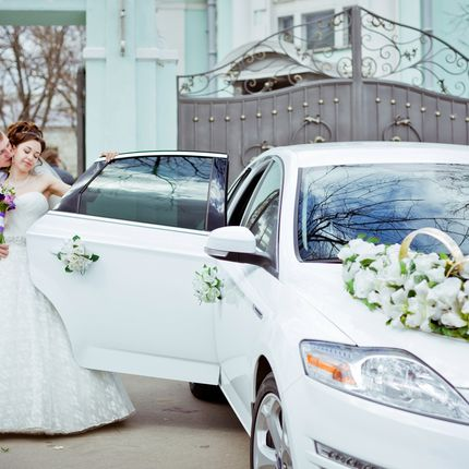 Авто на свадьбу Форд Мондео