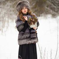 Зимняя фотосессия в русском стиле. MUAH: