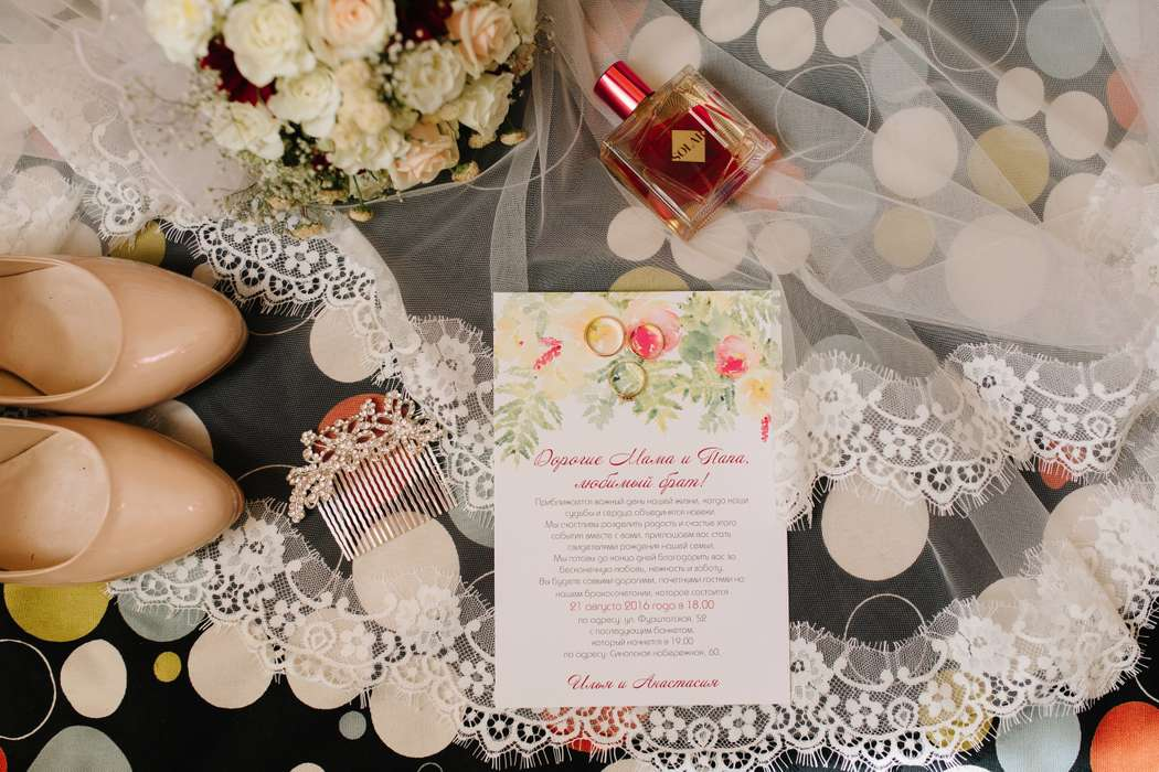 """Фото 12230100 в коллекции Примеры индивидуально разработанных приглашений - Студия полиграфии """"Cute wedding"""""""