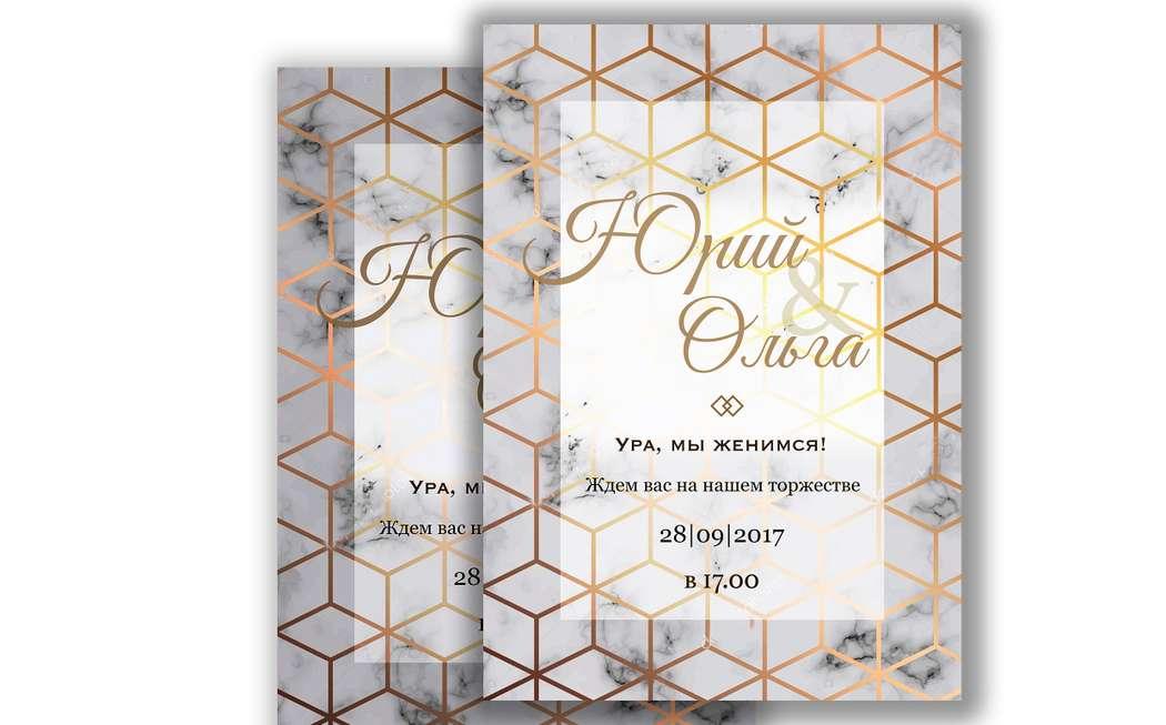 """Фото 17538584 в коллекции Примеры индивидуально разработанных приглашений - Студия полиграфии """"Cute wedding"""""""