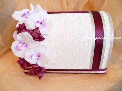 """Сундучок """"Орхидеи розы"""" Свадебные сундучки, можно  с сундучком заказать полный набор - фото 1775615 Заложница Снов - аксессуары ручной работы"""