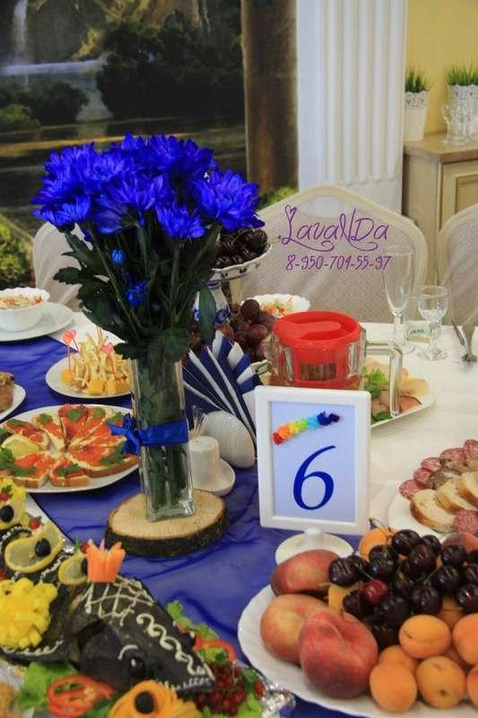 Букетики  и номерки на столы гостей  каждого цвета радуги - фото 10911524 Студия декора LavaNDa