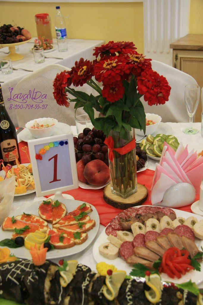 Букетики  и номерки на столы гостей  каждого цвета радуги - фото 10911542 Студия декора LavaNDa