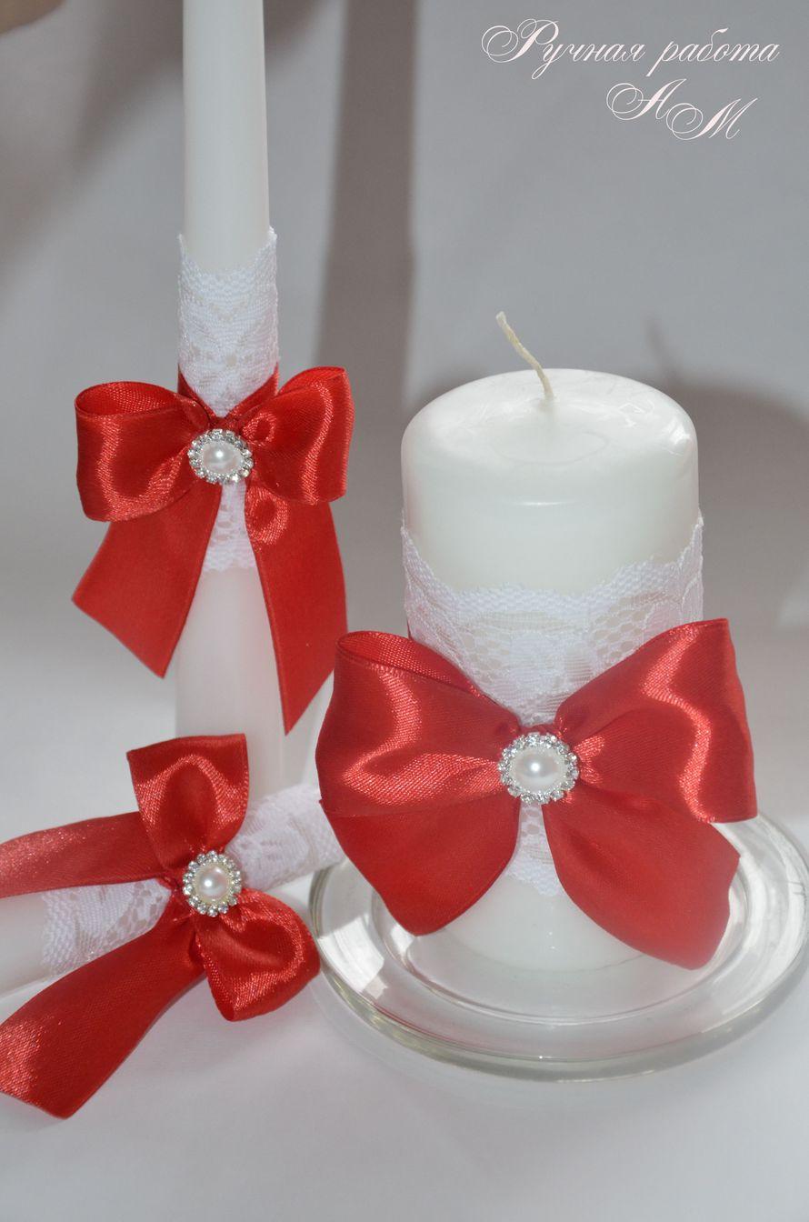 Украшаем свечи для семейного очага своими руками