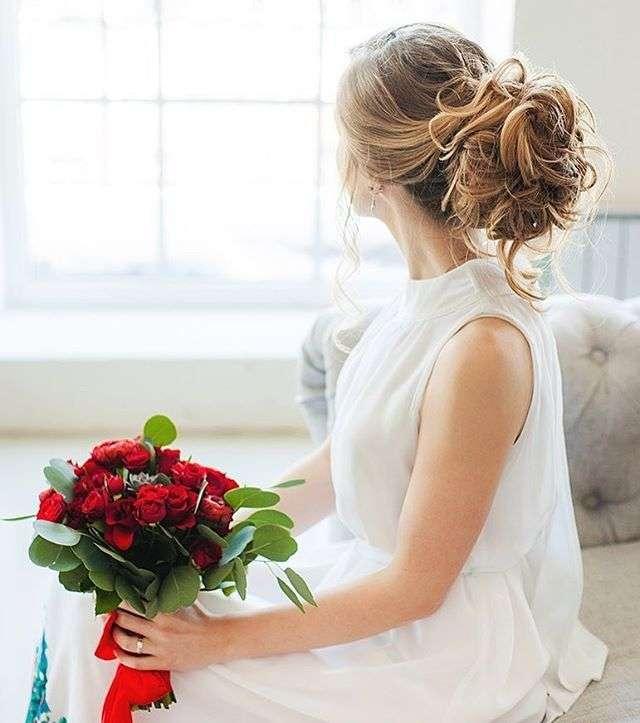 Страстный красный  - фото 11096682 Флорист Савинова Виктория
