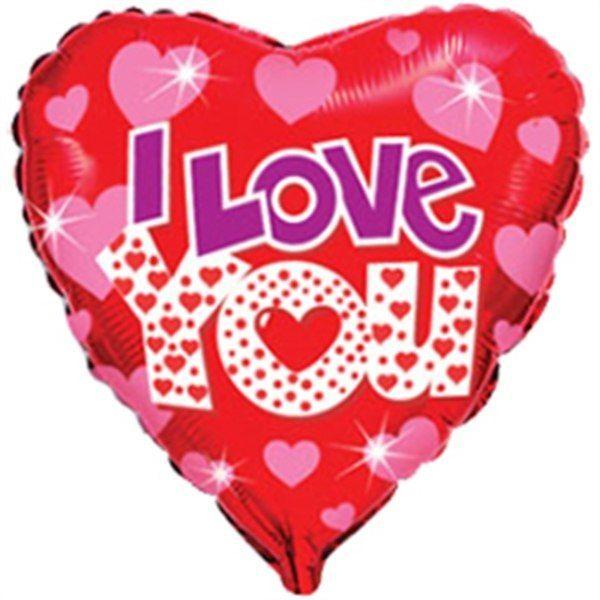 """Фольгированное сердце 46см Цена 280р - фото 10957312 Студия аэродизайна """"Шаромания"""""""
