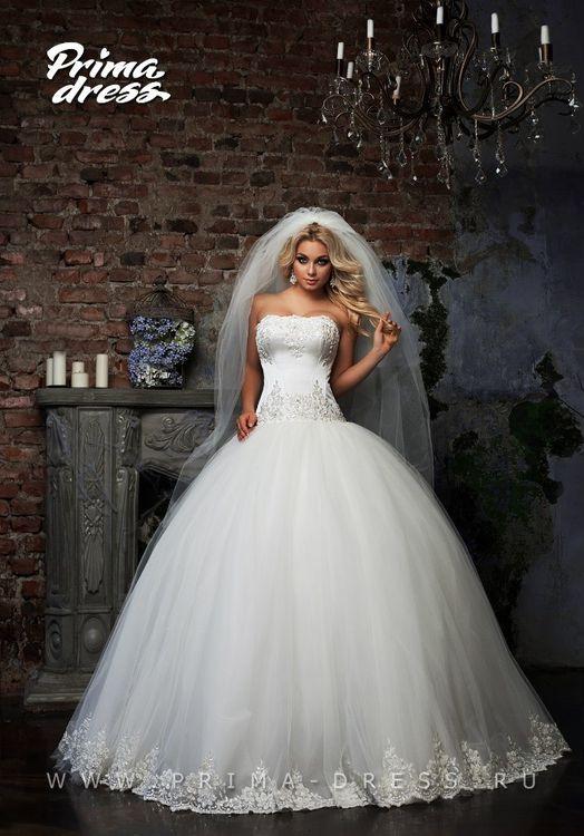 Платье для невесты пышное