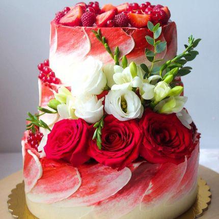 Акварельный торт, цена за 1 кг