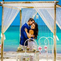 Свадьба в стиле шебби-шик в Доминикане