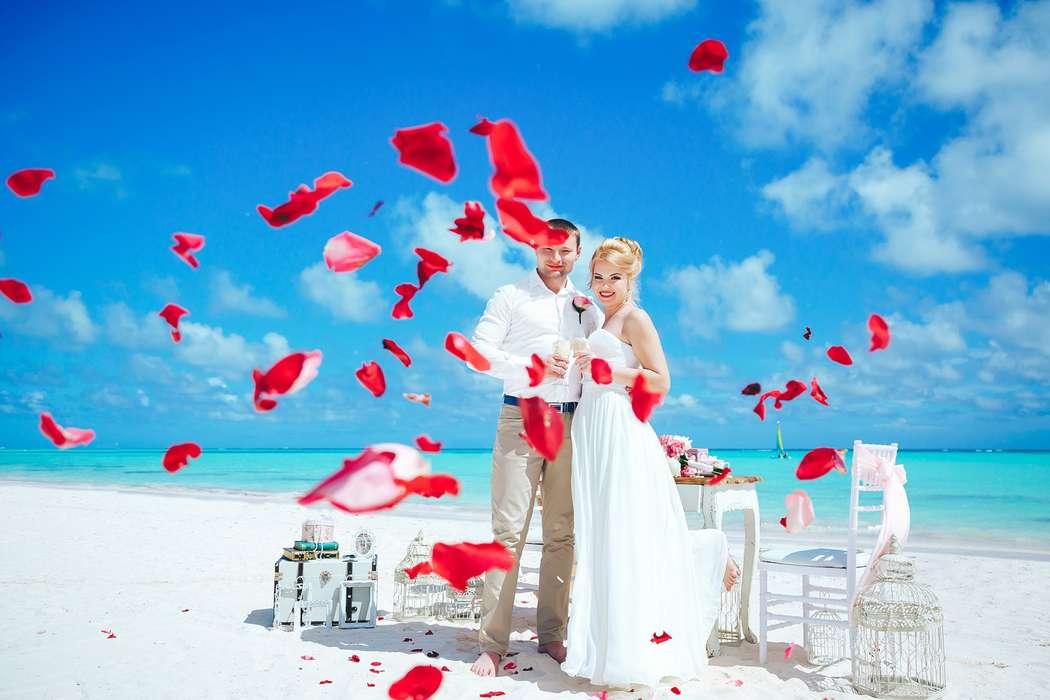 Фото 14493442 в коллекции Официальная свадьба в Доминикане на пляже Juanillo в Кап Кане {Сергей и Кристина} - Caribbean Wedding - свадьба в Доминикане