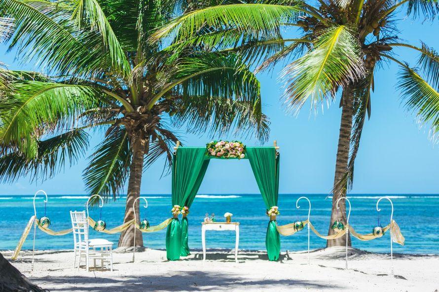 Фото 17358560 в коллекции Изумрудная свадьба в Доминикане на частном пляже Кариббеан {Мария и Артем} - Caribbean Wedding - свадьба в Доминикане