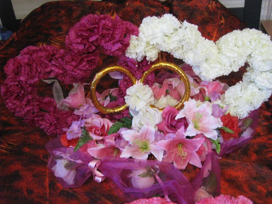 Полный Свадебный комплект на автомобиль  - фото 1450503 Sweet dream - букеты из конфет