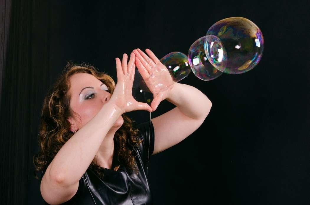 Фото 11100362 в коллекции Шоу для Вашего торжества - Шоу мыльных пузырей Евгении Коростелевой