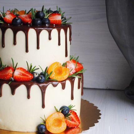 Свадебный торт, 2 яруса