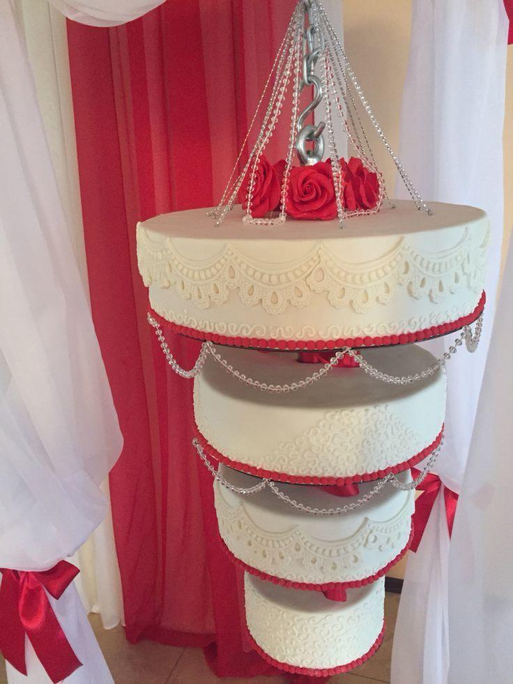 Подвесной торт фото