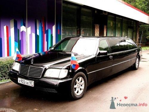 Президентский Мерседес  лимузин - фото 6590 Авто-Делюкс - прокат авто