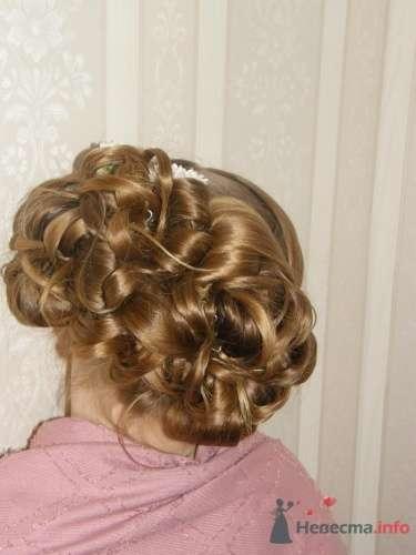 Прическа на свадьбу для маленькой девочки - фото 1378 Стилист Анна Пухкало