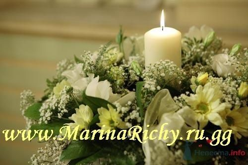 оформление столов цветами - фото 2251 Marina Richy - частные оформители