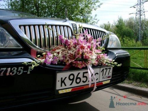 Цветочная композиция на радиатор машины - фото 1095 Флорист-дизайнер Елена
