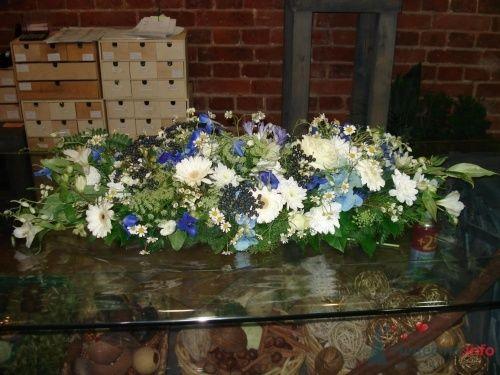 Настольная цветочная композиция - фото 1114 Флорист-дизайнер Елена
