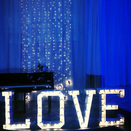 """Ретро буквы """"Love"""""""
