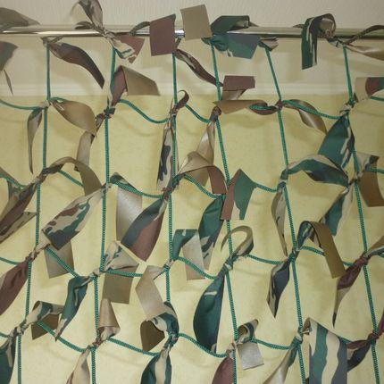Маскировочная сетка для декора бани, дачи, беседки