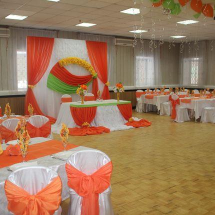 Оформление Апельсиновой Свадьбы