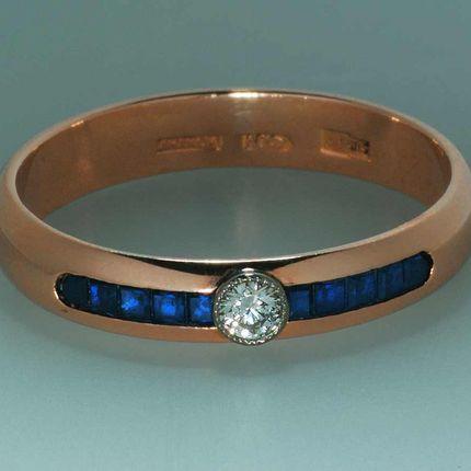 Арт 005 Обручальное кольцо (женское)